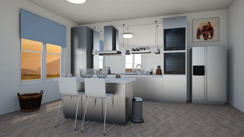 Haring Oak - Modern - Kitchen - by darcyclayton