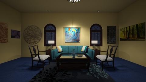 Modern Living 3 - Living room - by Katie Khambata