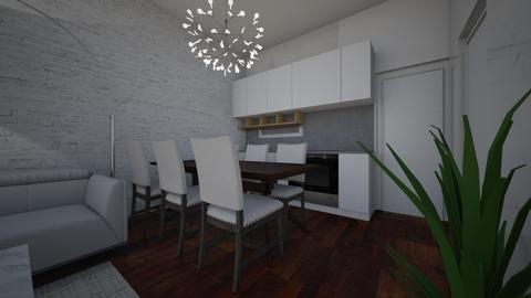 MONOLOCALE2 - Living room - by ELVI