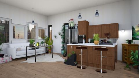 remix1 - Modern - Kitchen - by lokneszikolbasz