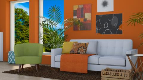 Color Splash - Modern - Living room - by millerfam