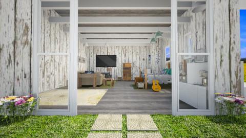 chic barn - Rustic - Bedroom - by heyimkaity