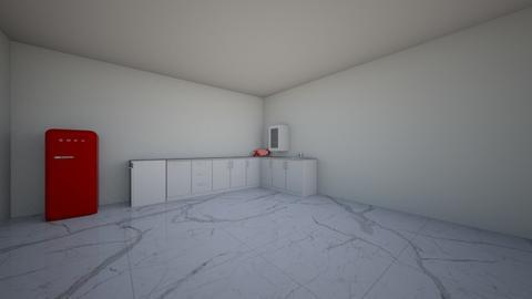 scarface inspo kitchen  - Kitchen - by LaurenNichole