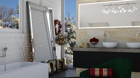 Christmas Bath - Bathroom - by rebsrebsmmg