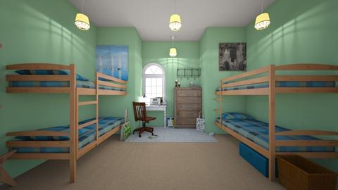 Old Kids Cabin - Country - Kids room - by Chicken202