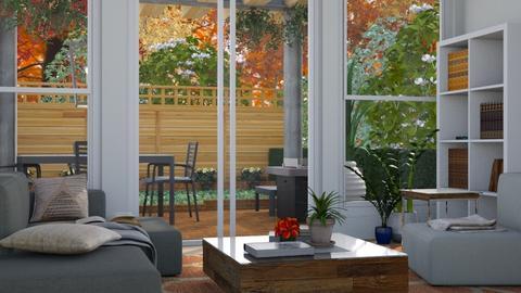 Little Garden - Modern - Living room - by millerfam