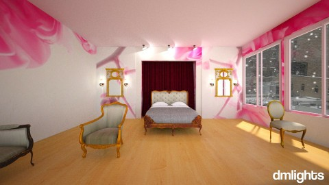 Rose Room - Bedroom - by DMLights-user-1001197