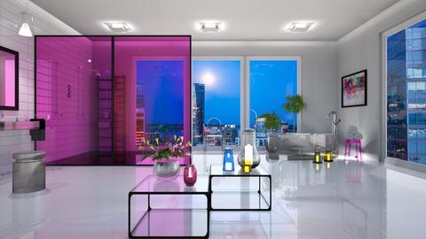 transparent bathroom02 - Bathroom - by jagwas