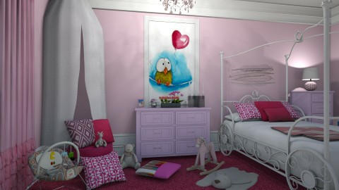 04092017 - Modern - Kids room - by matina1976