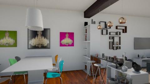 Gert-Jan's woonkamer - Living room - by valeria79