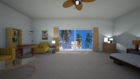 Miami Room - Living room - by WestVirginiaRebel