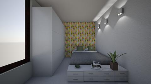 dormitor Flori 1 - by anamariadumitrascu