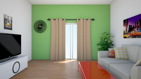 modern living room - Living room - by kelseysun