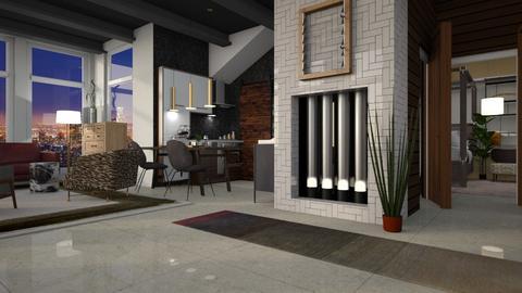 Condo - Modern - Living room - by Jessica Fox