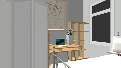 semi scandi room - Modern - Bedroom - by Ellie White