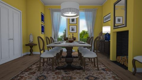Eclectic dining - Dining room - by Tuija