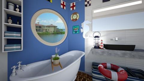 Nautical - Bathroom - by HIHELLOHI