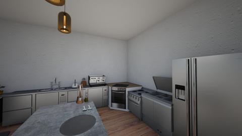 Kitchen_Batman_Epitech - Kitchen - by Steve_DM