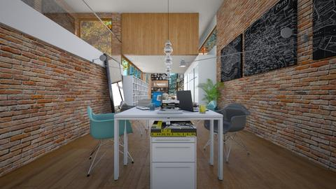 Home office - by lilica