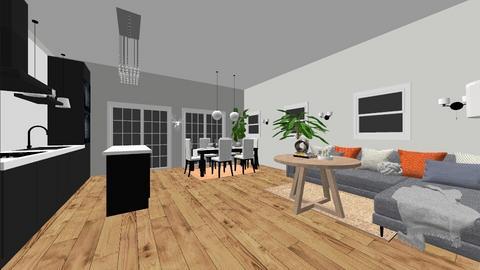 Kitchen living diner - Modern - Kitchen - by Kmblake1995