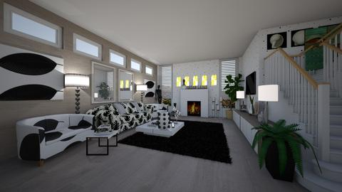 IP Terrazzo - Living room - by hillygabe