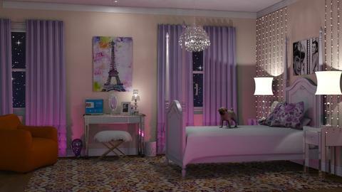 Teen Bedroom - Bedroom - by GraceKathryn