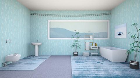 Serenity - Bathroom - by Maia319