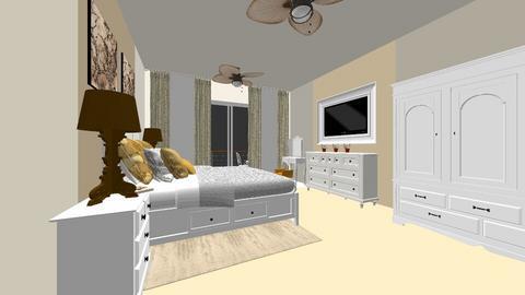 White Chocolate Hotel - Bedroom - by Nikki Lipstick