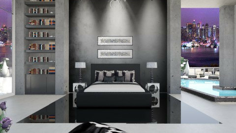 concrete - Bedroom - by Nufra