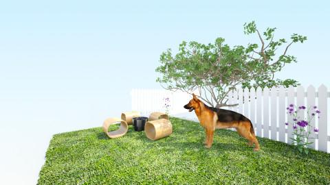 Backyard - Garden - by Mia Redondo