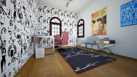 Thary - Feminine - Bedroom - by Thary Imbelloni