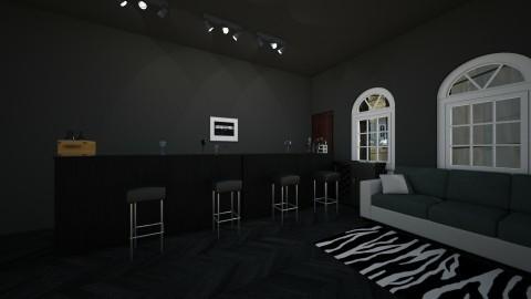 The darkened pub - by arden roeda