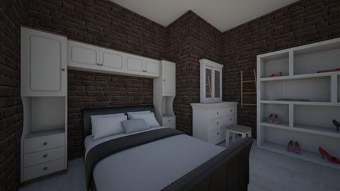 slaapkamer ashlyn - Retro - Bedroom - by ashlynnxx