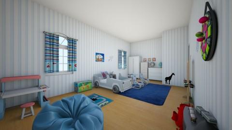 Afonso - Kids room - by simaoana