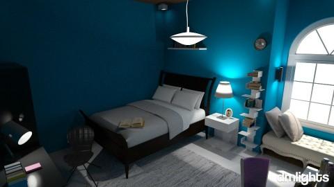 student - Feminine - Bedroom - by DMLights-user-1347177