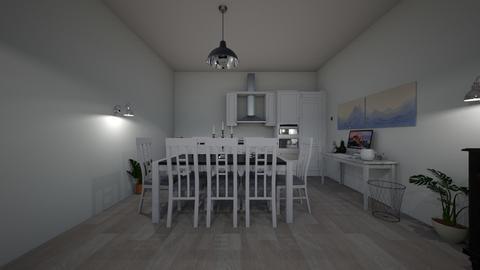 easy - Retro - Living room - by irinaonica