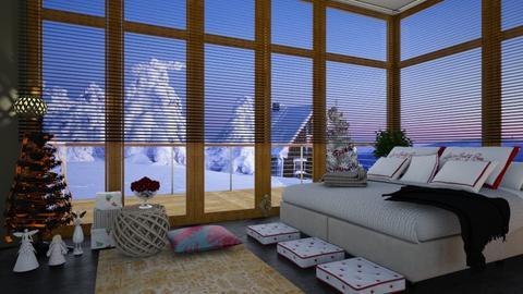 snow behaind - Bedroom - by renowkas78