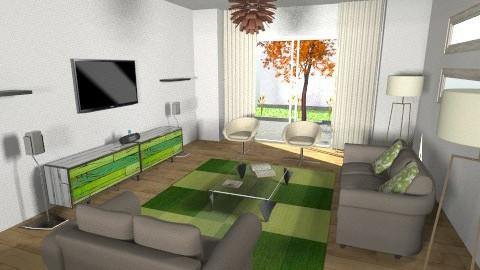 Sala de estar 3 - Modern - Living room - by Alexandra Baltazar_73