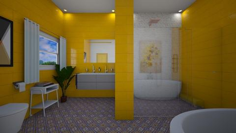 Yellow Mellow - Bathroom - by heyfeyt