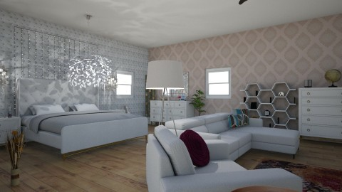 master bedroom - by bellavanderwal