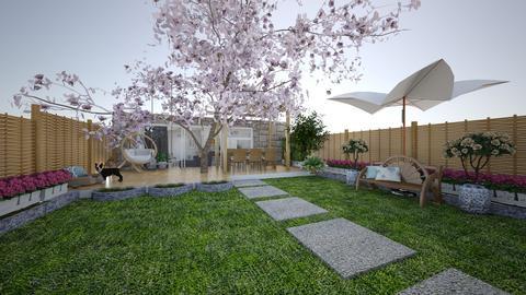 AH elegant cozy yard - Garden - by aleksandra8