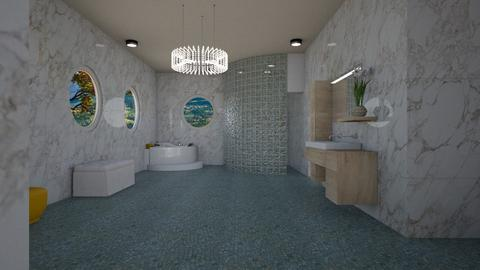 Mst Sut Brm - Glamour - Bathroom - by alonatech_2nd