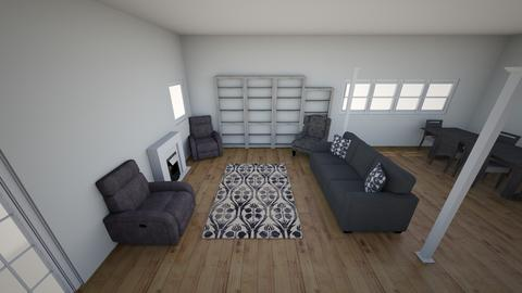 Living Room Front Angle - Living room - by melanie8383
