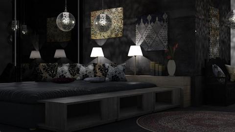good night - Bedroom - by Sirtzuu93