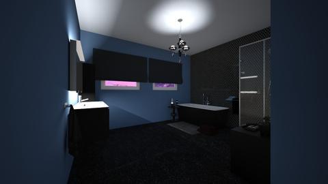 Dark bathroom - Bathroom - by CCPompey