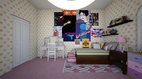 Alysons Room - Bedroom - by ijustlikemakingfloorplans