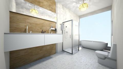 banheiro de hotel - Country - Bathroom - by kelly lucena