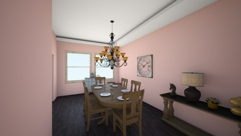 dinnig - Classic - Dining room - by Arianna Lanz