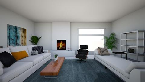 house - Living room - by jessedang