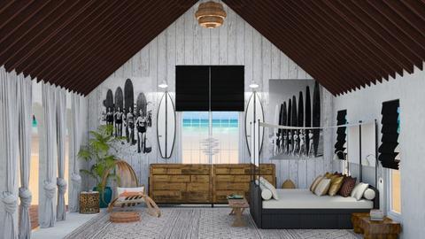 Surf Culture Bedroom - Bedroom - by jjp513